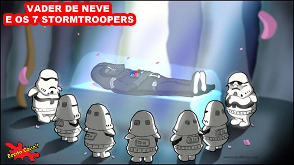 star wars vii, star wars, vader, stormtrooper, disney, eeeita coisa