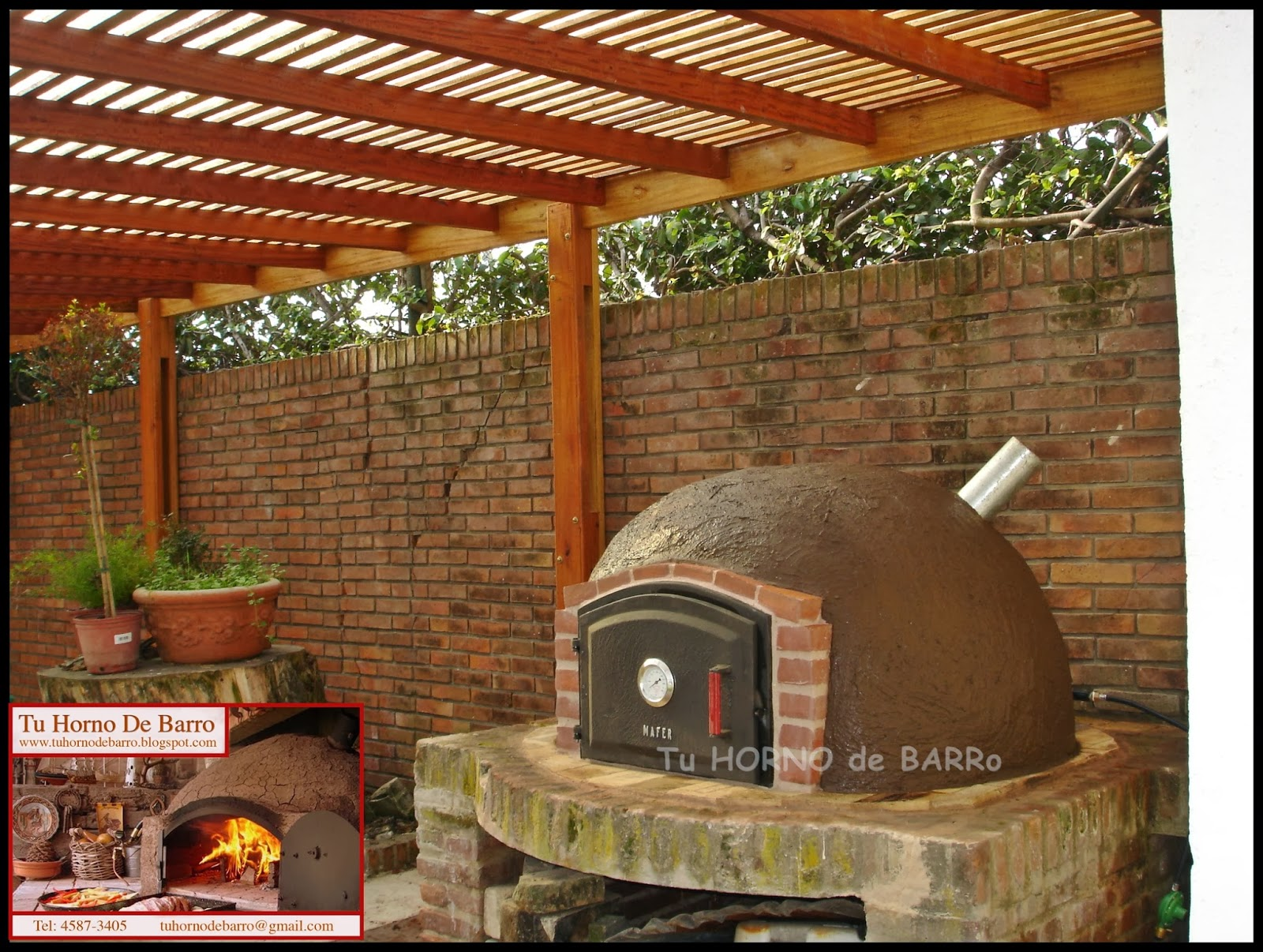 Tu horno de barro hornos de barro artesanales - Horno para casa ...