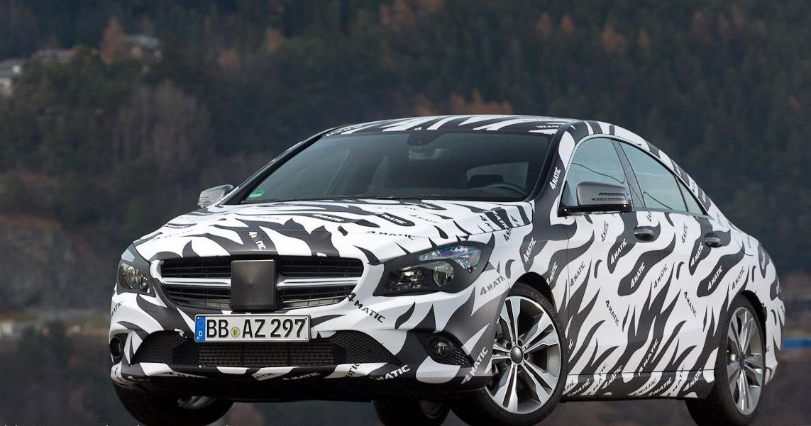 All cars nz 2012 mercedes benz cla 45 amg with camo 2013 for Mercedes benz cla 2012