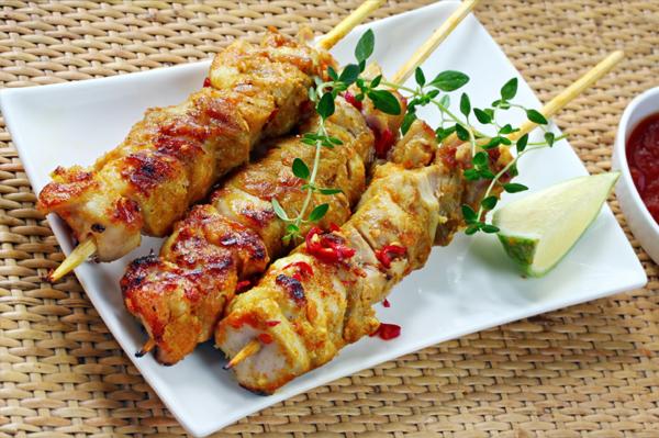 My Recipes: Chicken Skewers