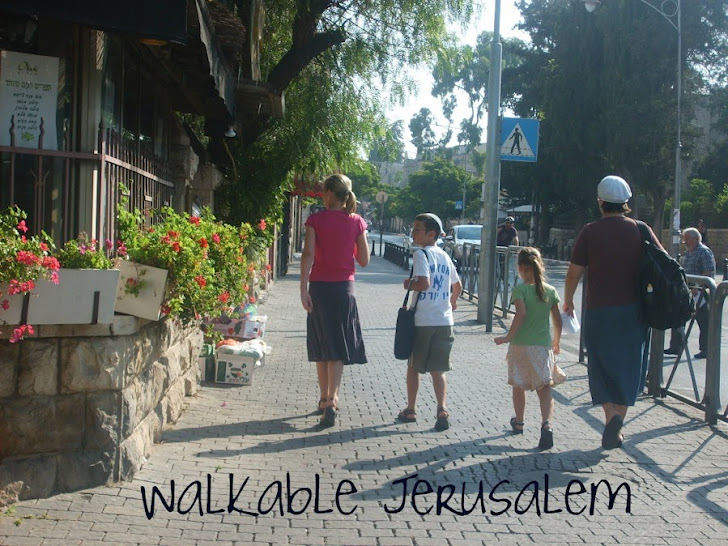 Walkable Jerusalem