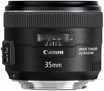 Fotografia del Canon EF 35mm f/2 IS USM