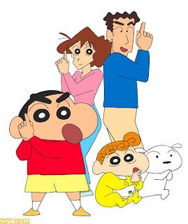 gambar kartun lucu shincan