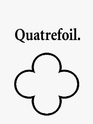 Geometrical form quatrefoil printable geometry outline simple picture school coloring with wording