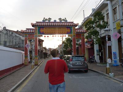 Chinatown en Malacca, Malasia