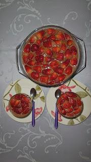 Sobremesa para o Dia dos Namorados: Pavê de Chocolate com Morangos