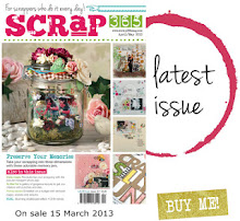 RECENT PUBLICATIONS - I have 2 layouts in the March issue of scrap 365!