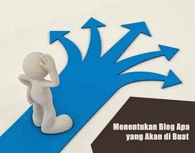 blog apa yang akan anda buat