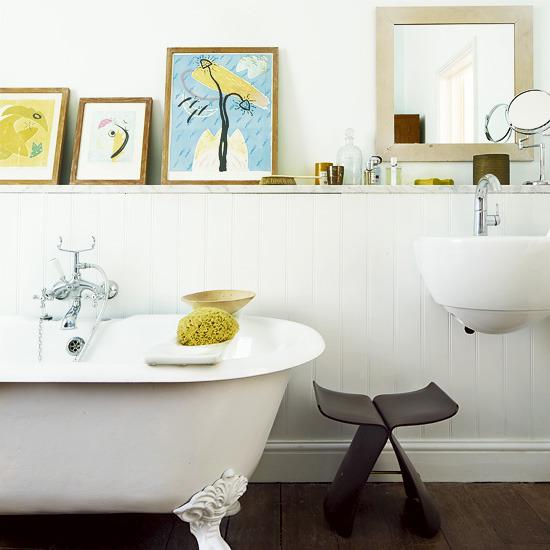 Casual Casa Cozy Eclectic Bathrooms