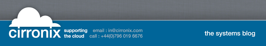 Cirronix | Supporting the Cloud