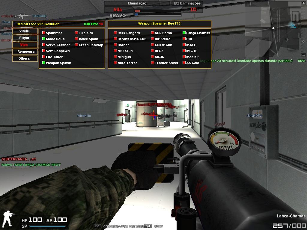 Radical Cheats Free VIP Evolution Elite Kick Spam Crash Desktop e