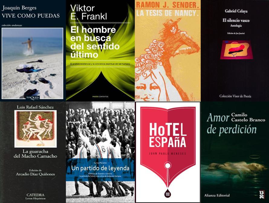 Lote de libros 2012