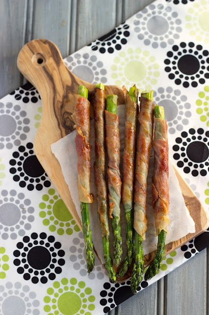 Prosciutto Wrapped Asparagus | Cooking on the Front Burner