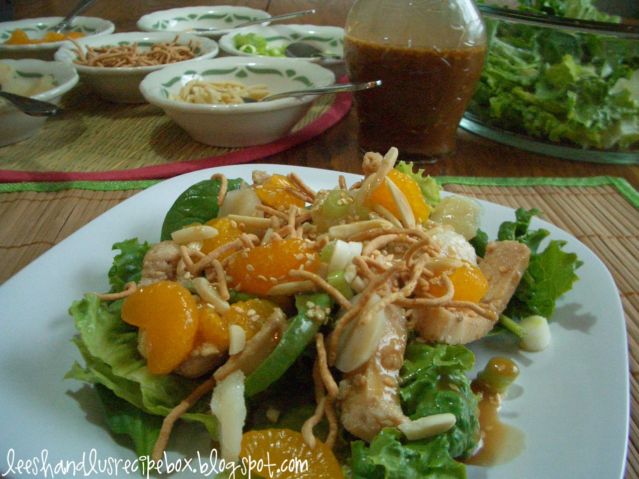 Asian chicken salad dressing