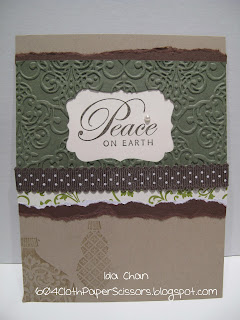 Greetings of the Season card by Ida Chan Stampin' Up! Vancouver