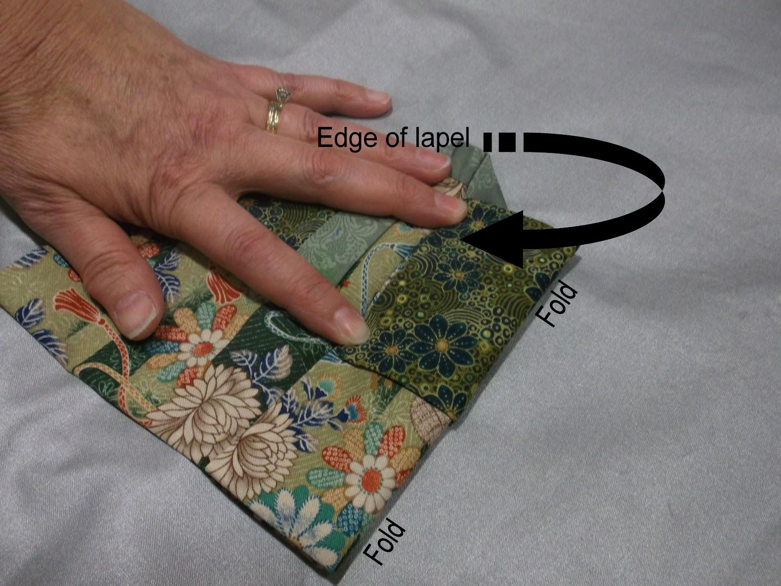 ASG In The SLC Fabric Origami Kimono Tutorial