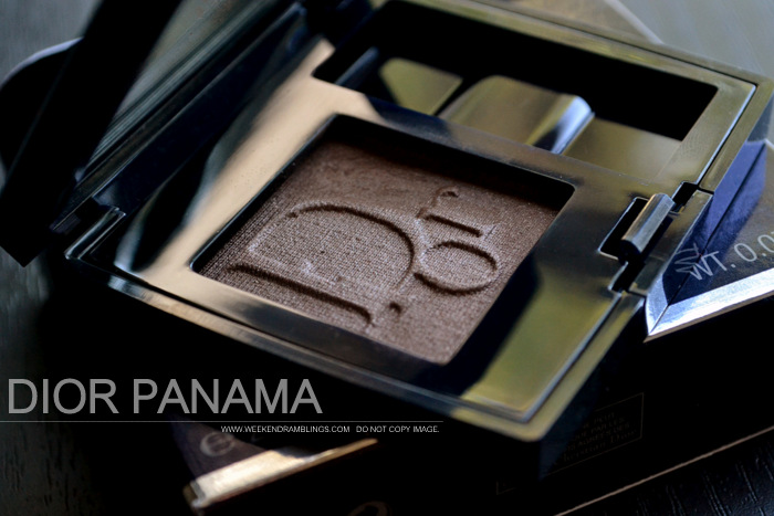 Dior Diorshow Mono Eyeshadow - Panama 566 - Photos Swatch FOTD Review