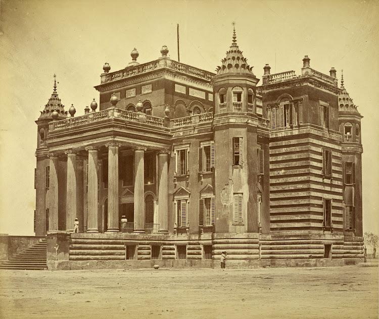 The Dilkusha Palace - Lucknow c1858
