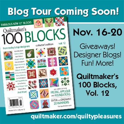 http://www.quiltmaker.com/100blocks.html