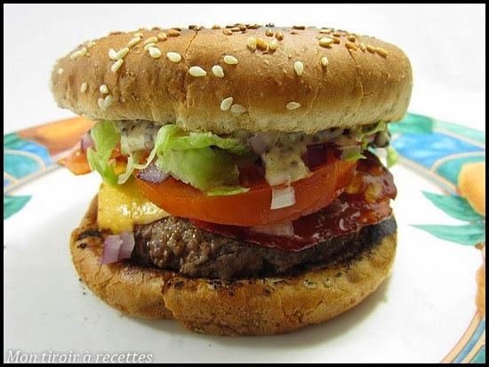 burger au chorizo