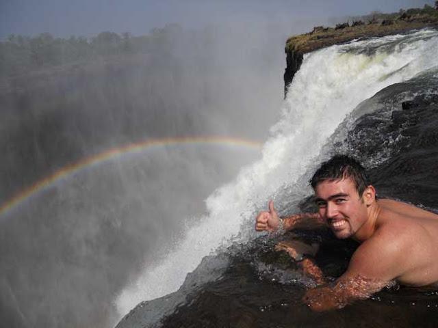 Devil 39 S Swimming Pool Victoria Falls Trawel India Mails