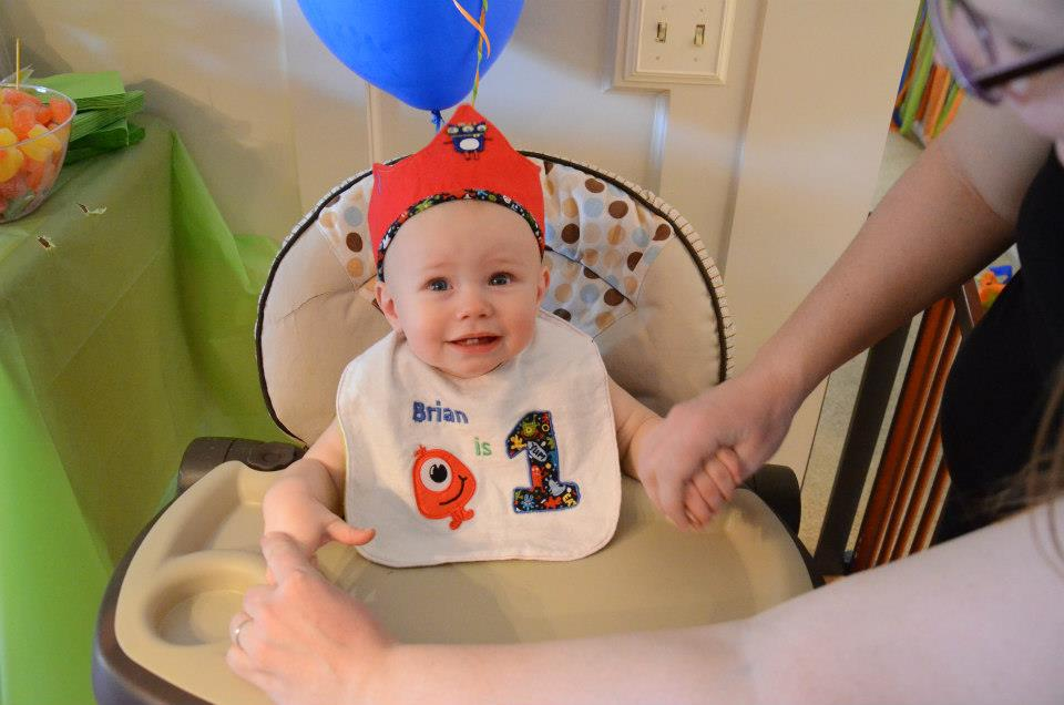 Pitcher Family Adventures: Brians 1st Birthday Party!