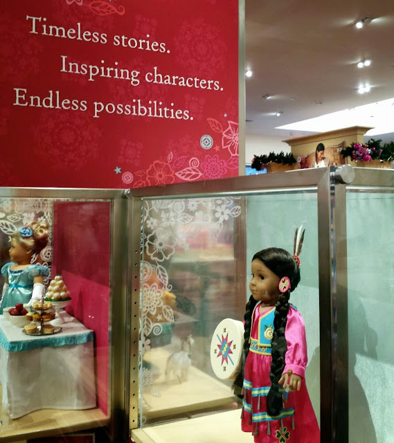 New American Girl Doll Store in Charlotte at South Park Mall.