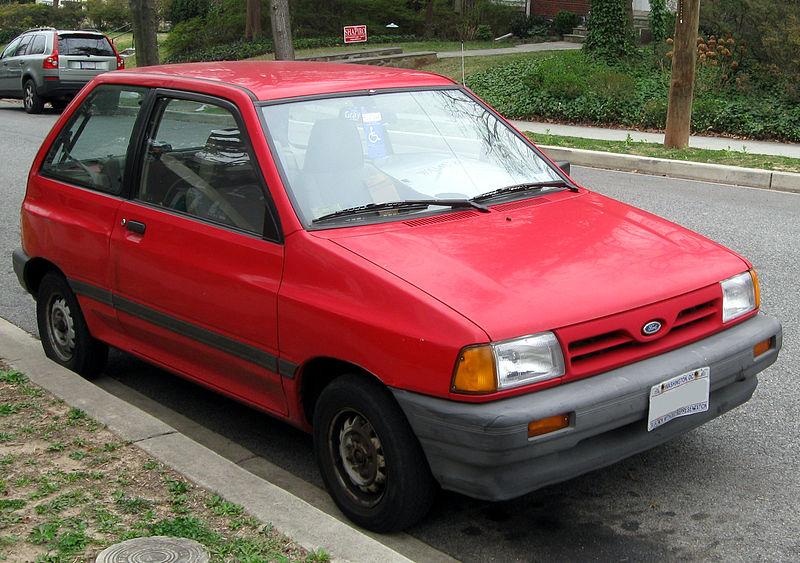 Car Spotlight Ford Festiva 1988 1993