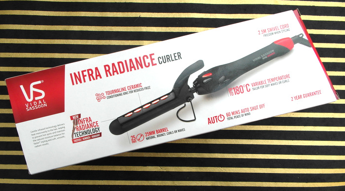 One Little Vice Beauty Blog: Vidal Sassoon Infra Radiance Hair Tool Giveaway