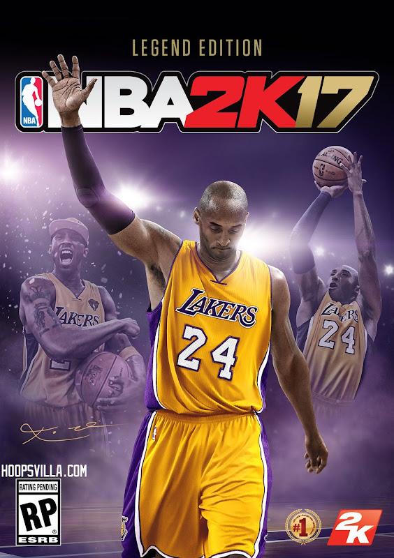 NBA 2k17 Kobe Bryant Legend Edition