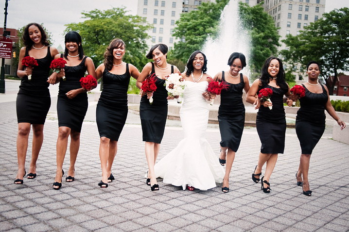 Black And White Bridesmaid Dress Designs Ideas Wedding Dress
