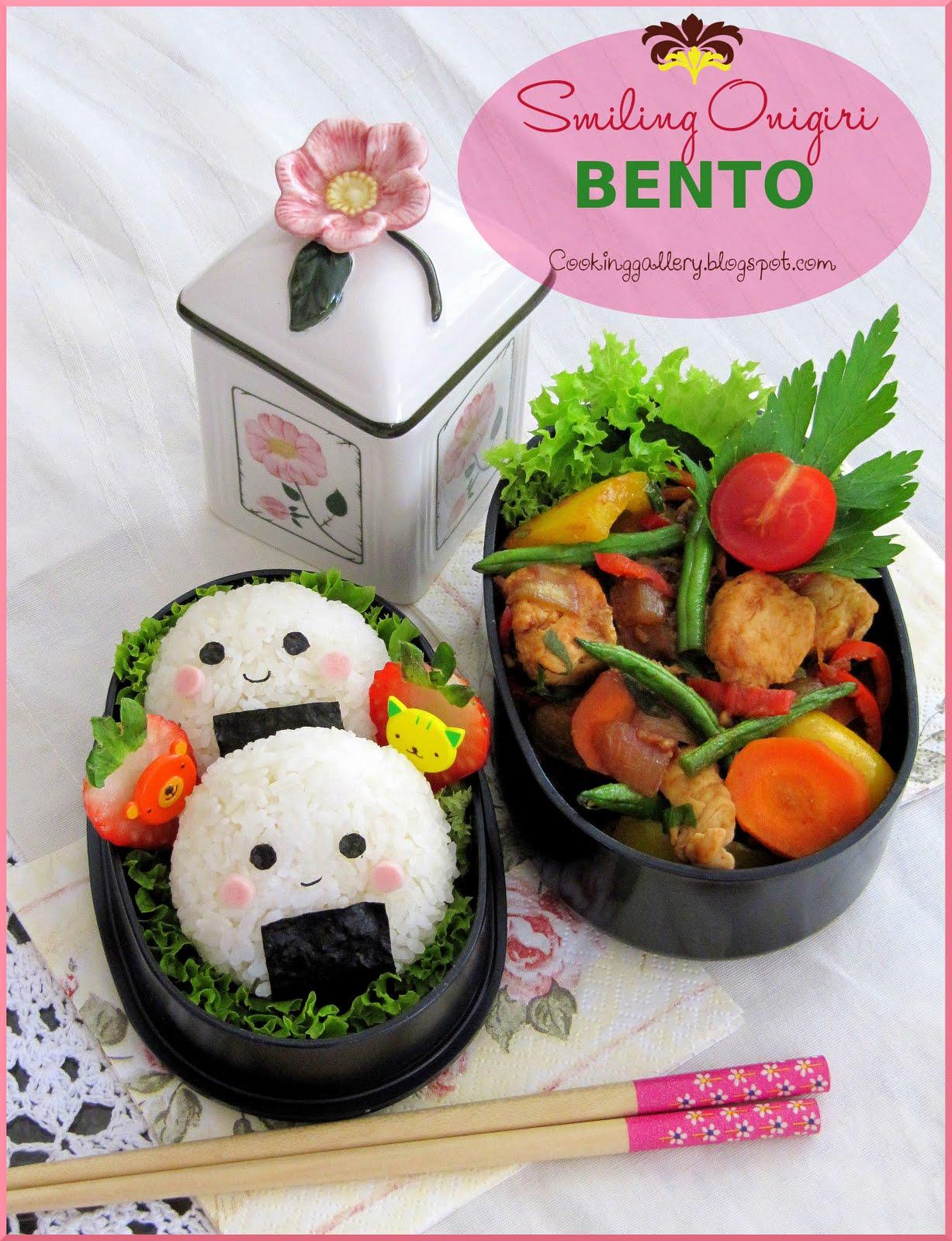 Onigiri Bento Smiling Onigiri...