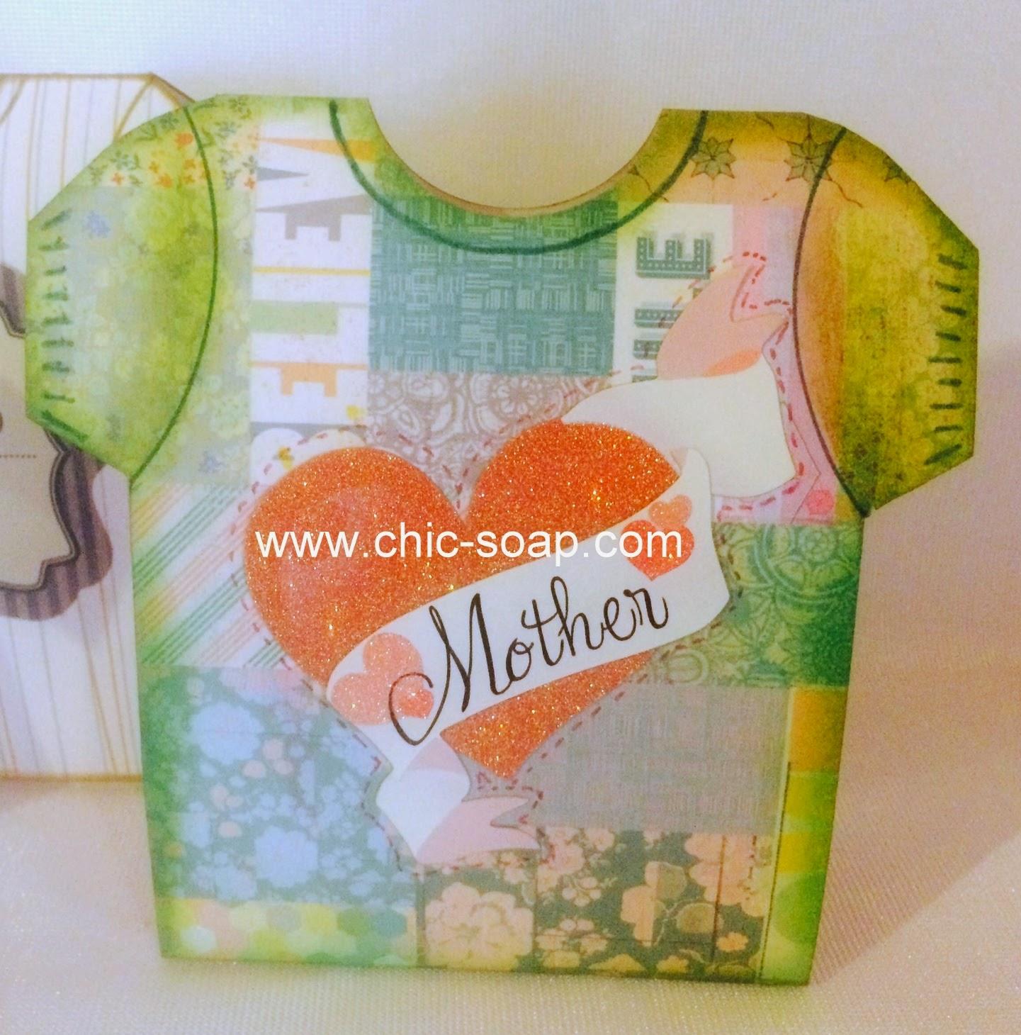 Foto envoltorio camiseta para mamá o día de la madre