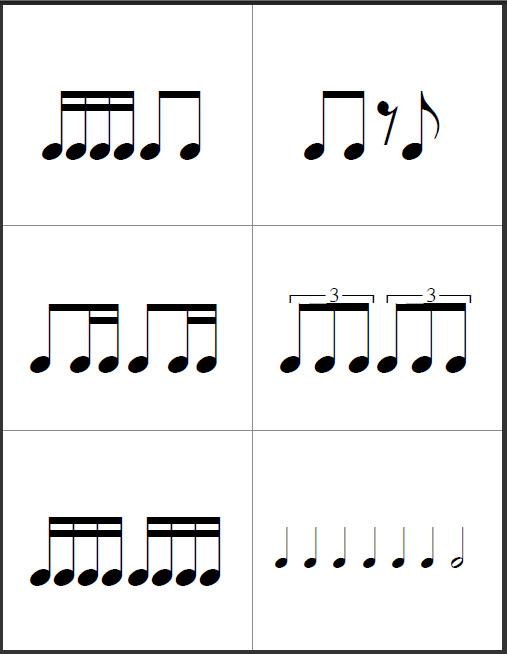 Suzuki Twinkle Rhythms