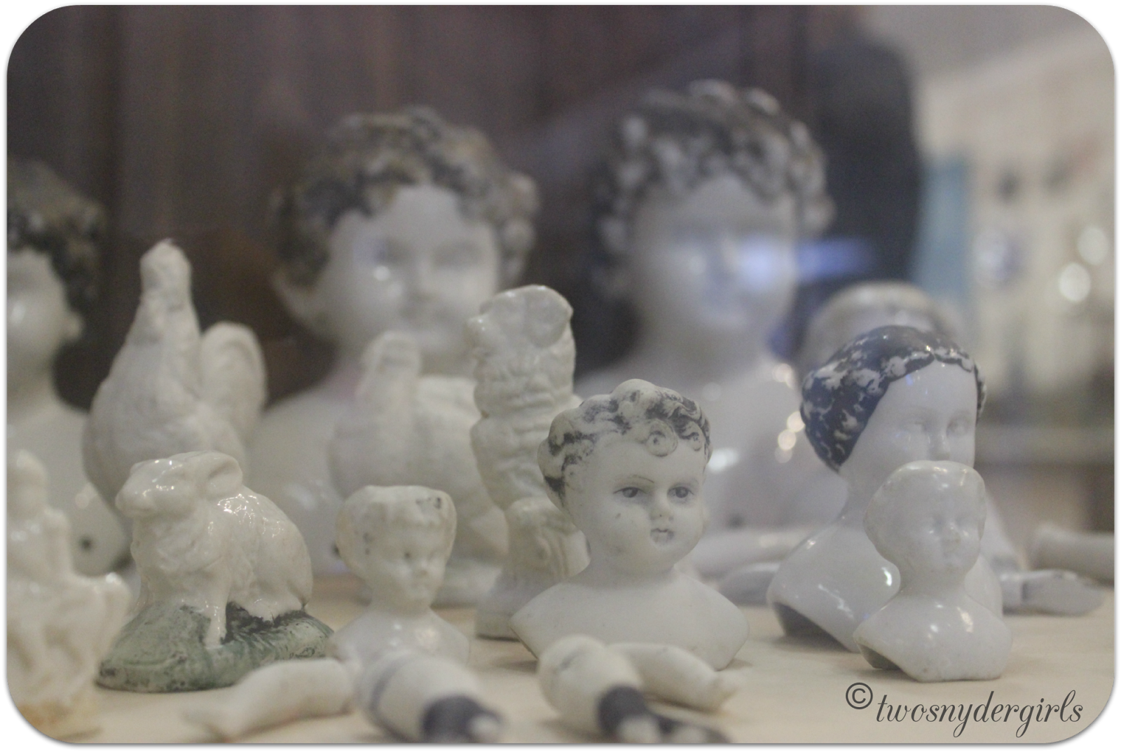 Porcelain dolls found in shipwrecks
