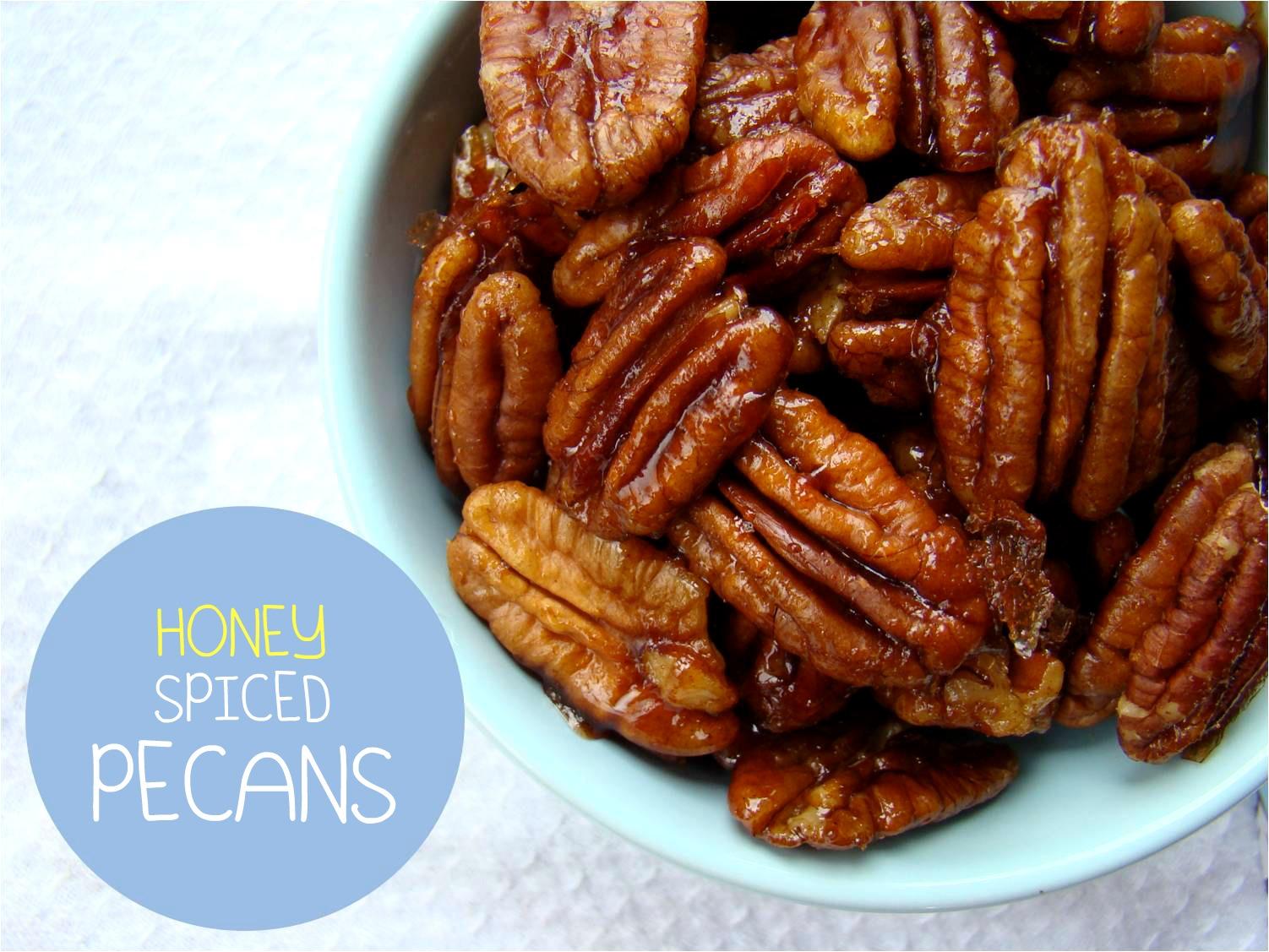 Family Feedbag: Honey spiced pecans
