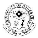 Jobs of Project Fellow in Hyderabad University--sarkarialljobs.blogspot.com