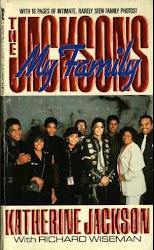"LIVRO ""MY FAMILY, THE JACKSON'S"" (DE KATHERINE JACKSON - 1990)"