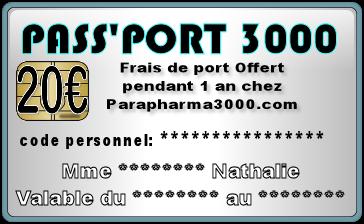 Parapharma3000 offrez vous les frais de port gratuit chez - Les frais de port ...