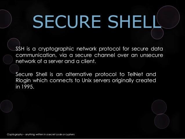 Secure Shell dan Panduan Penggunaan