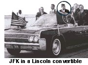 AGENTS BESIDE JFK'S LIMO
