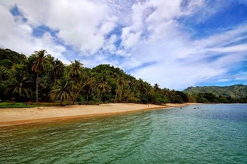 Foto pantai Pasir Putih Prigi