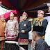 Ketua MPR Zulkifli Hasan Membuka Pawai Budaya Festival Sekala Brak II Lampung Barat