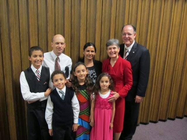 Elder Haynie Mission president