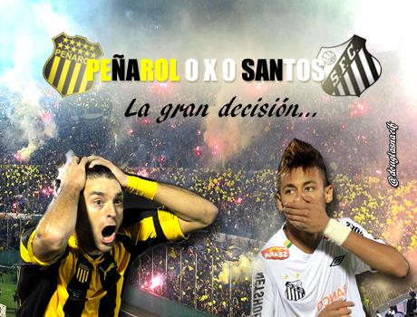 A grande decisão entre Peñarol e Santos pela Copa Santander Libertadores