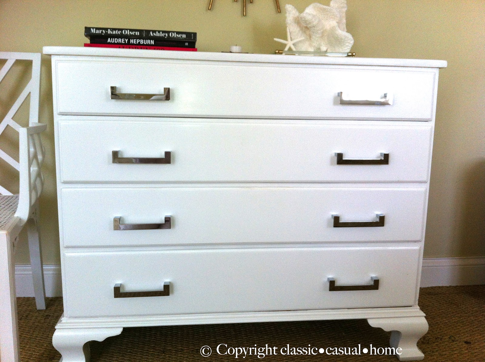 classic • casual • home: claire's fresh furniture makeovers