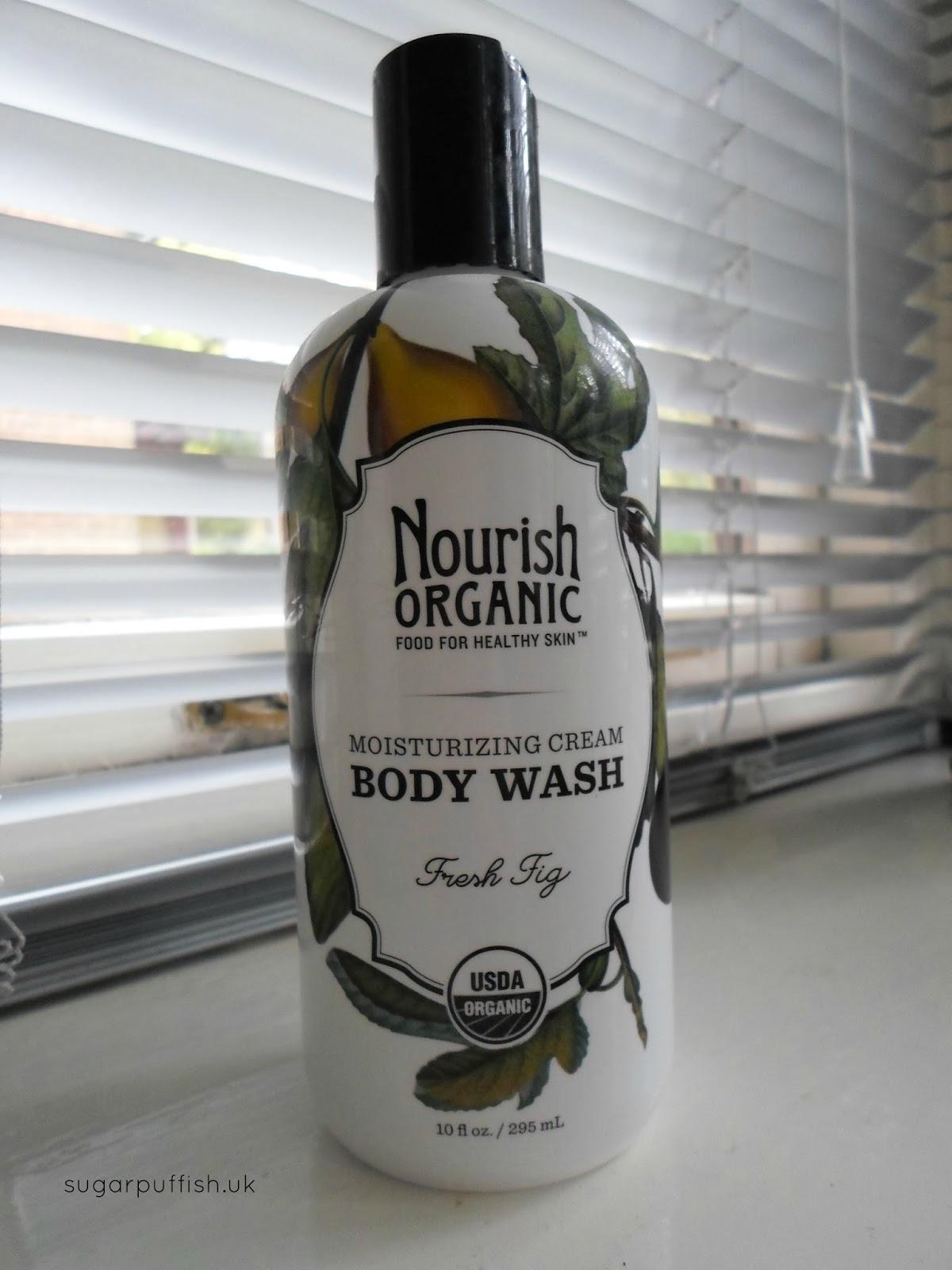 Nourish Organic Body Wash Fresh Fig
