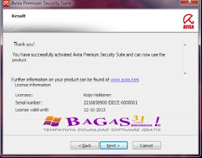 New Lisence Key Antivirus Avast + Avira 2