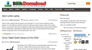 Free Download Tricks Theme V2 BlogSpot Version 2012 Terbaru