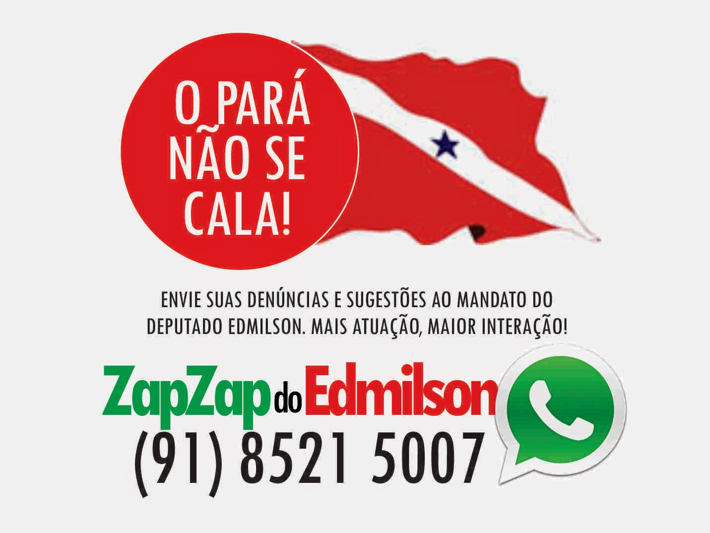 ZapZap do Edmilson Rodrigues